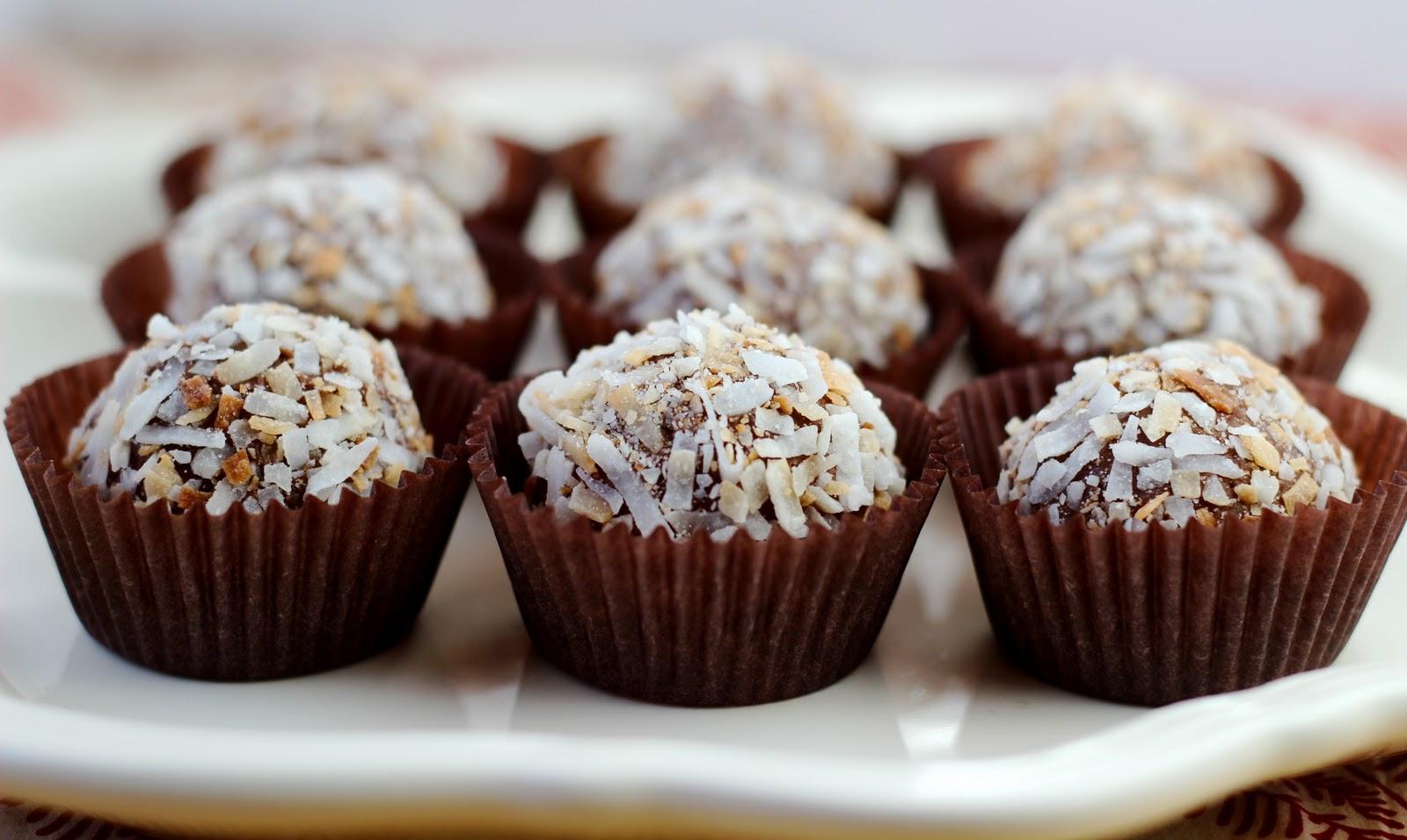 ... wife {fifo life: bake it: Chocolate Coconut Truffles} | the fifo wife